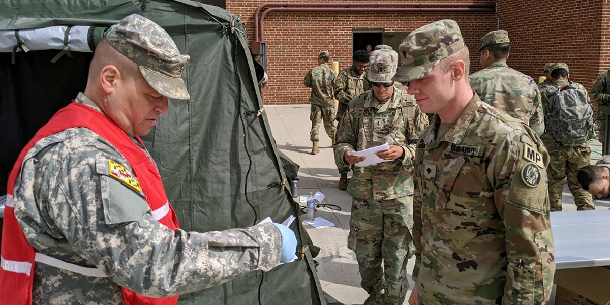 MDDF Supports MDNG COVID-19 Response Efforts - Article