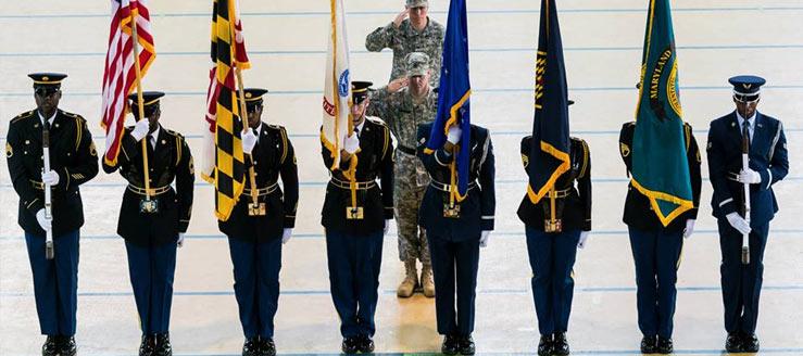 Maryland National Guard Honor Guard